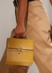 Hermes Yellow Cinetic d'Hermes Bag - Spring 2017