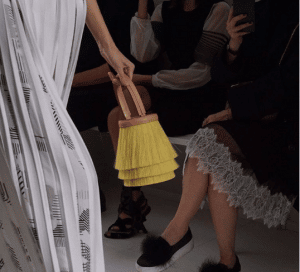 Hermes Yellow Fringed Horsehair Toupet Bucket Bag 2 - Spring 2017
