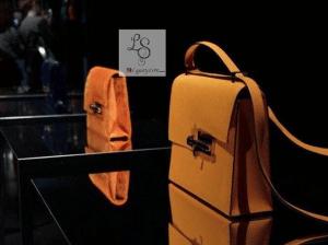 Hermes Yellow Suede Verrou Shoulder Bag