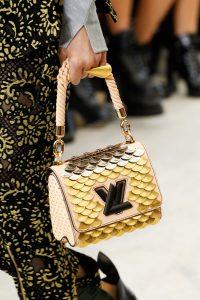 Louis Vuitton Beige/Gold Embellished Twist Bag - Spring 2017