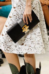 Louis Vuitton Black Clutch Bag - Spring 2017