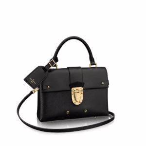 Louis Vuitton Black Epi One Handle Flap Bag
