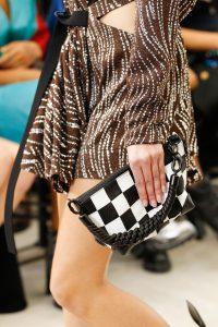 Louis Vuitton Black/White Checkered Mini Bag - Spring 2017
