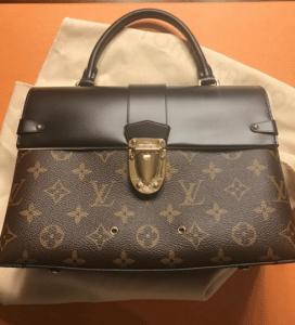 Louis Vuitton Monogram Canvas One Handle Flap Bag 2