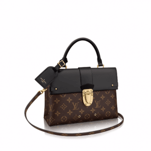 Louis Vuitton Monogram Canvas One Handle Flap Bag