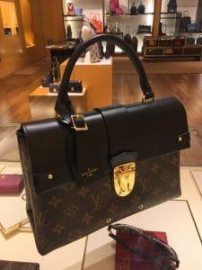 Louis Vuitton Monogram Canvas One Handle Flap Bag 4