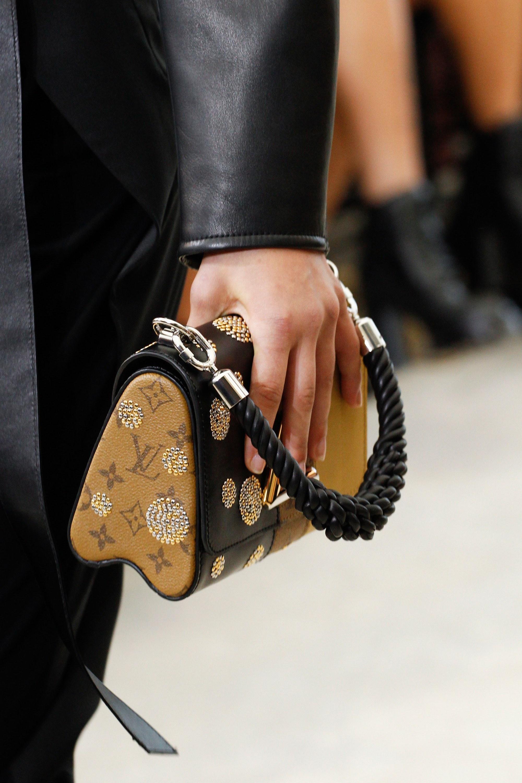 Louis Vuitton Monogram Reverse And Black Leather Twist Bag Spring 2017