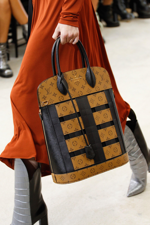 Louis Vuitton Monogram Reverse Tote Bag Spring 2017