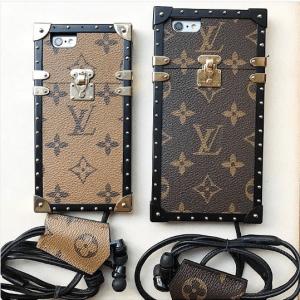 Louis Vuitton Monogram Reverse and Monogram Canvas Petite Malle iPhone Cases