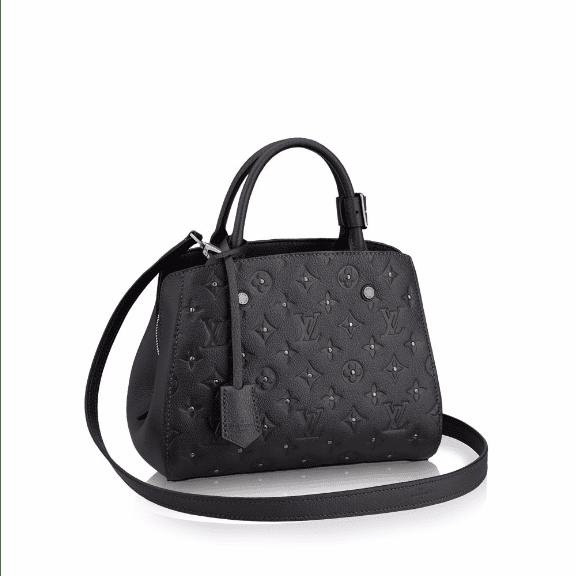 Louis Vuitton Platine Studded Monogram Empreinte Montaigne BB Bag