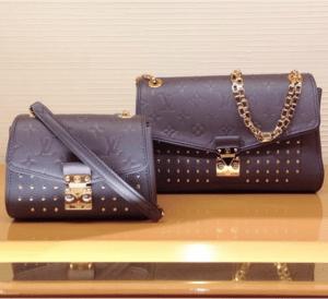 Louis Vuitton Platine Studded Monogram Empreinte Saint Germain Bags