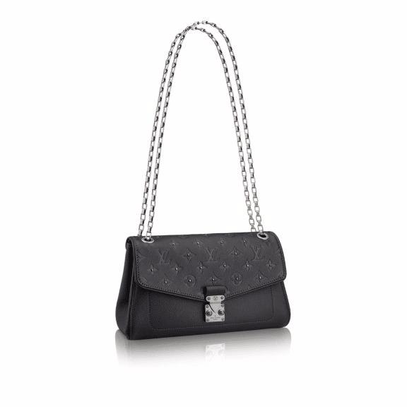 Louis Vuitton Platine Studded Monogram Empreinte Saint Germain PM Bag
