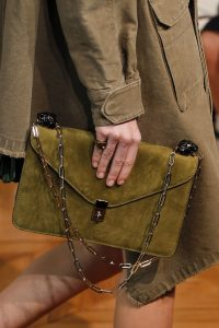 Valentino Olive Green Flap Bag - Spring 2017