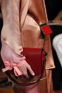 Valentino Red Flap and Mini Lipstick Holder Bags - Spring 2017