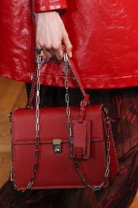 Valentino Red Studded Top Handle Bag - Spring 2017