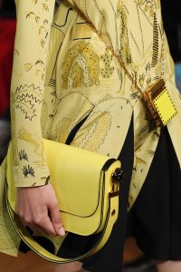 Valentino Yellow Flap and Mini Lipstick Holder Bags - Spring 2017