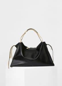 Celine Black Large Sloutchy Tote Bag