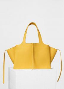 Celine Citrus Small Tri-Fold Shoulder Bag