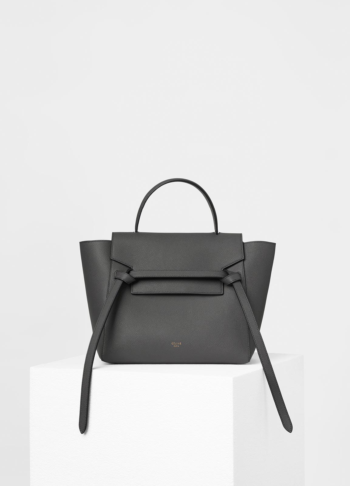 Celine mini belt bag celebrity ghost