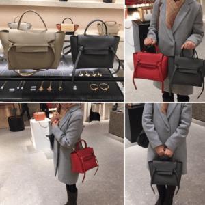 Celine Micro Belt Bags