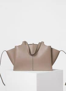 Celine Stone Medium Tri-Fold Shoulder Bag