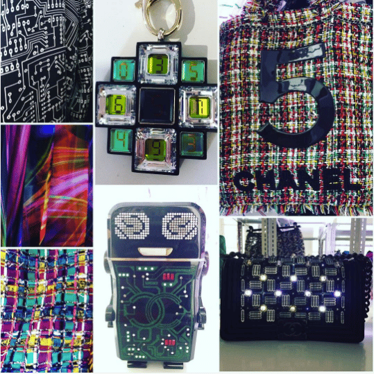 94db6bafcdd2 Chanel Black Robot Minaudiere and Boy Bags. IG  sarahdibona
