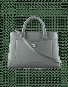 Chanel Gray Neo Executive Small Shopping Bag
