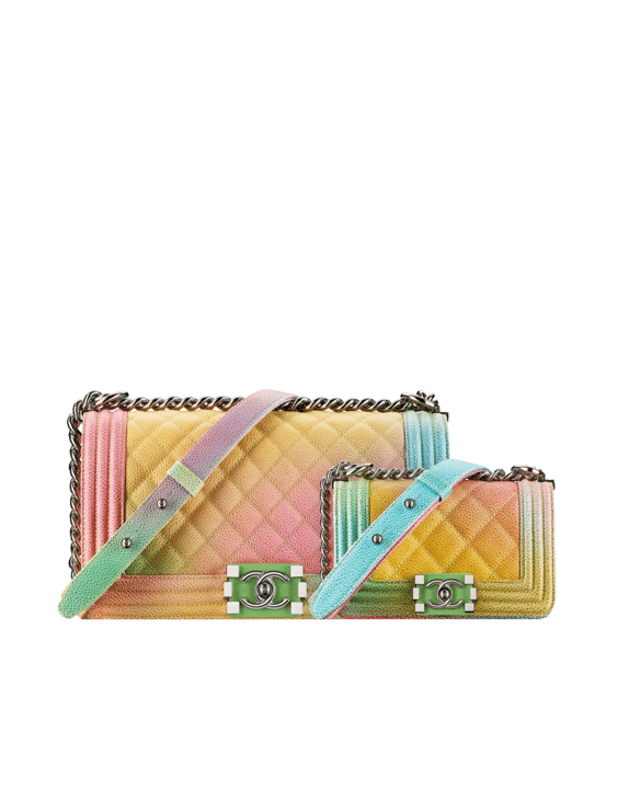 ac4b95db6763 Multicolored Chanel Boy Bag | Stanford Center for Opportunity Policy ...