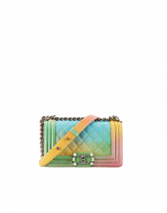 Chanel Multicolor Small Rainbow Boy Chanel Flap Bag