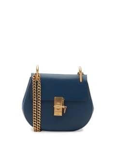 Chloe Denim Blue Drew Small Bag