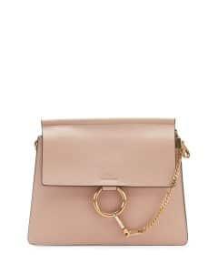 Chloe Light Beige Faye Medium Shoulder Bag