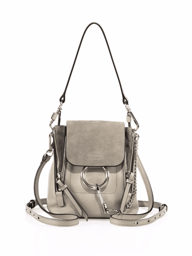 Chloe Faye Backpack Bag Reference Guide Spotted Fashion