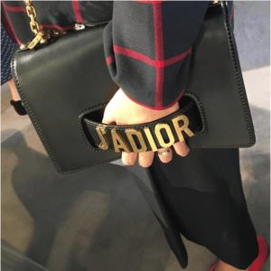 Dior Black Jadior Flap Bag