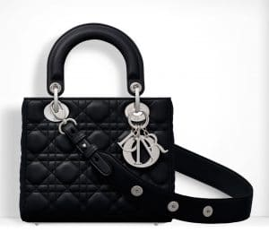 Dior Black Small Lady Dior Bag 2