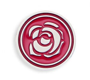 Dior Blooming Rose Lucky Badge