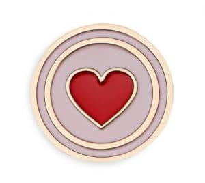 Dior Heart Lucky Badge