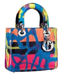 Dior Lady Art Bag by Chris Martin 2