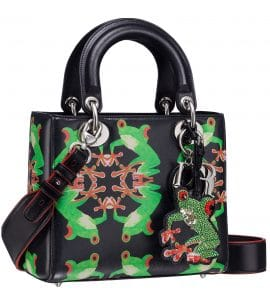 Dior Lady Art Bag by Chris Martin