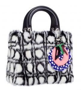 Dior Lady Art Bag by Daniel Gordon