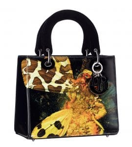 Dior Lady Art Bag by Mat Collishaw