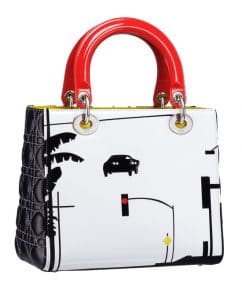 Dior Lady Art Bag by Matthew Porter 2