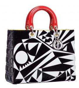 Dior Lady Art Bag by Matthew Porter