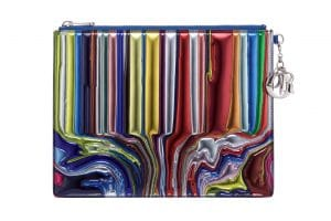 Dior Lady Art Clutch Bag by Ian Davenport