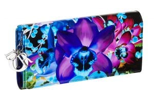 Dior Lady Art Clutch Bag by Marc Quinn