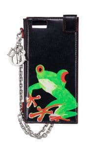 Dior Lady Art Phone Pouch by Chris Martin
