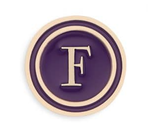 Dior Letter F Lucky Badge