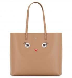 Fendi Tan Hypnoteyes Tote Bag