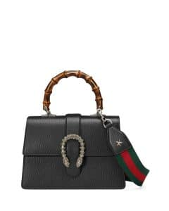 Gucci Black Small Top-Handle Satchel Bag
