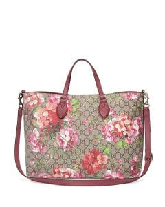 Gucci Rose GG Blooms Top-Handle Tote Bag