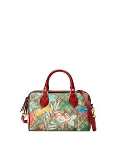 Gucci Tian GG Supreme Small Top-Handle Bag